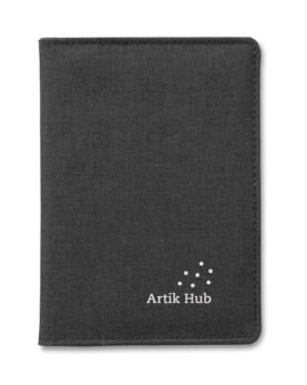 Portofel pașaport 2 nuanțe personalizate