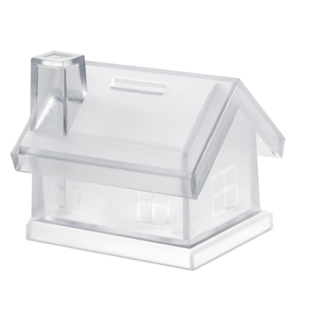Personalizare Pușculiță casă din plastic