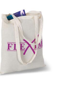 Sacoşă cumpărături cu mânere personalizate