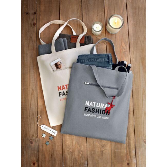 Sacoşă cumpărături din pânză personalizate