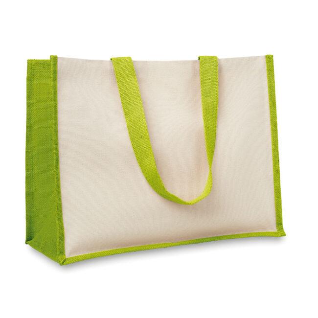 Sacoșă iută/ pânză cumpărături personalizate