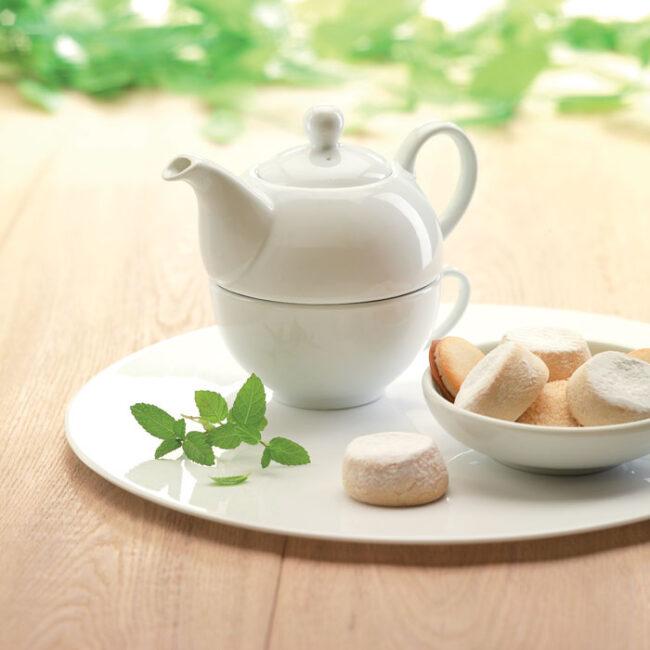 Set ceainic și ceașcă de ceai inscriptionate