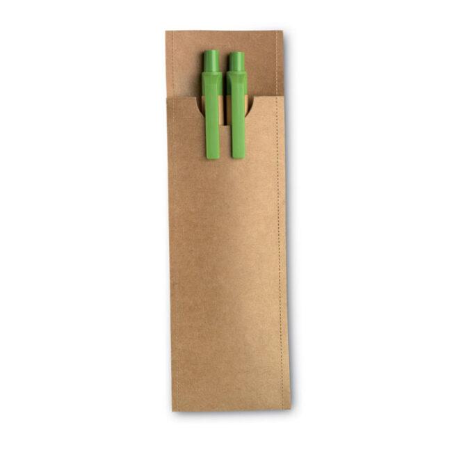 Set creion mecanic și pix imprimate