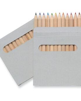 Personalizare Set de 12 creioane colorate