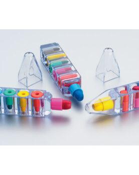 Set de 6 creioane cerate personalizate