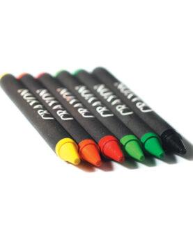 Personalizare Set de 6 creioane cerate