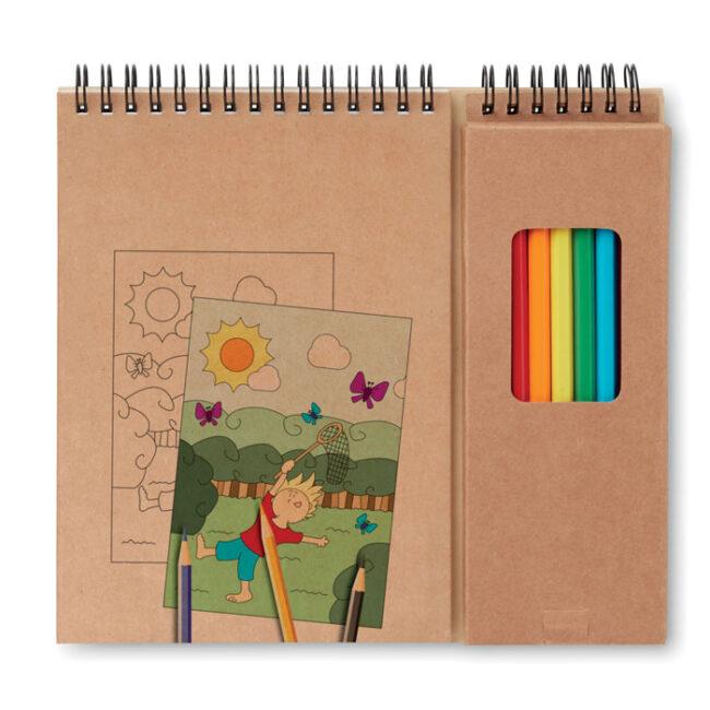 Personalizare Set de desenat cu carnet