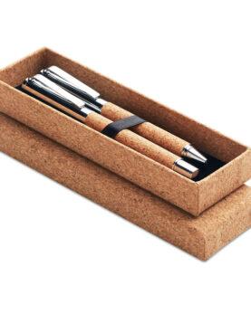 Personalizare Set pixuri în cutie de plută