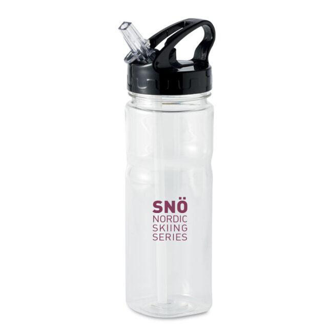 Sticlă cu pai personalizate