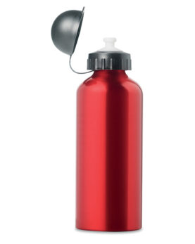 Sticlă metalică. Volum 600 ml. personalizate