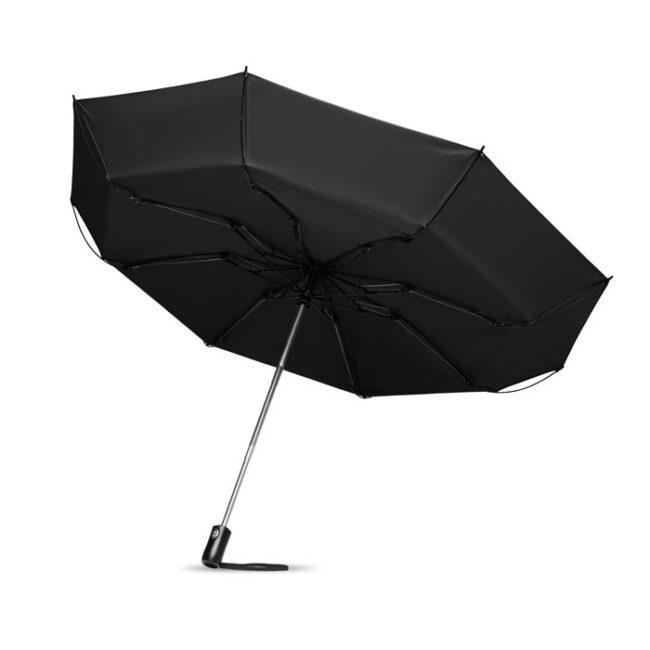 Umbrelă pliabilă reversibilă imprimate