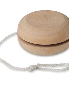 Personalizare Yo-yo din lemn